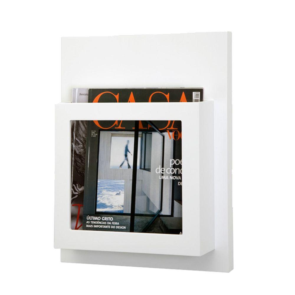Organizador Home Magazine Único Branco