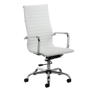 Cadeira-Sevilha-Cromada-Alta-Branca