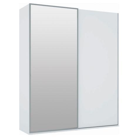 Armario-Dadi--2-Portas-Deslizantes-com-Espelho-194-m-Branco