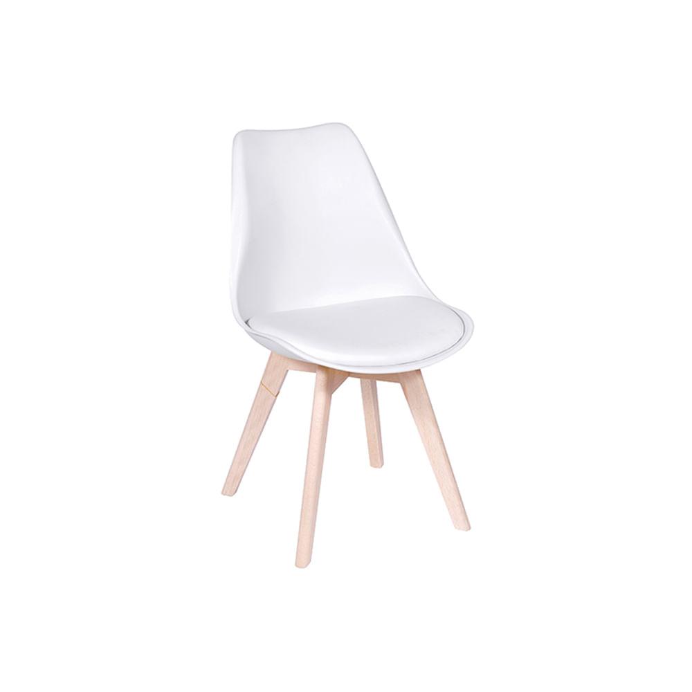 Cadeira Leda Branca Nova Versão