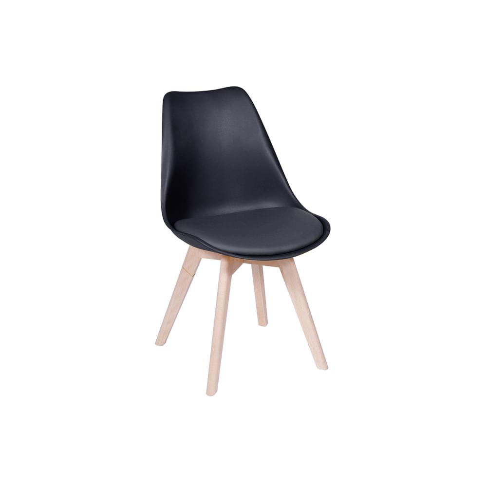 Cadeira Leda Preta Nova Versão