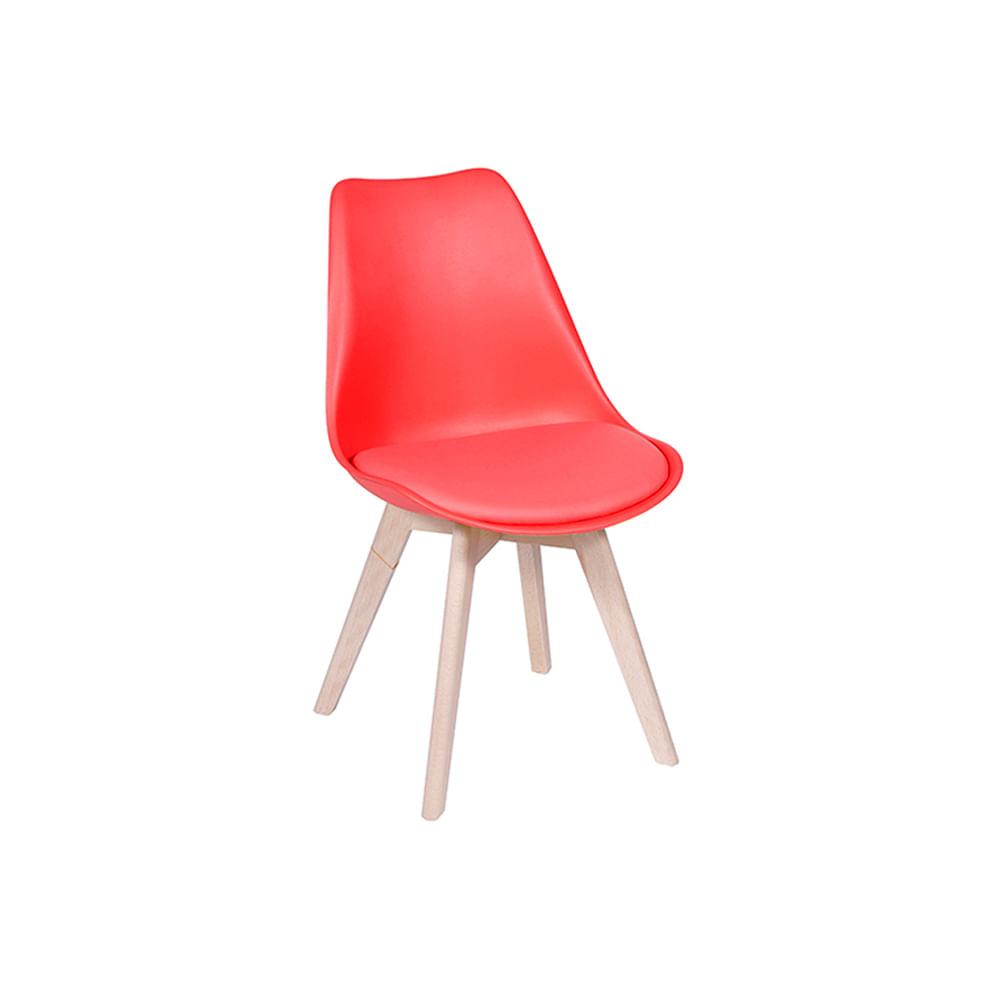 Cadeira Leda Vermelha Nova Versão