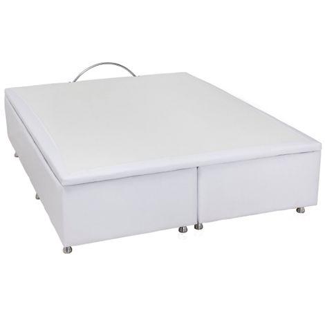 Cama-Box-Bau-Casal-Ortobom-Branca
