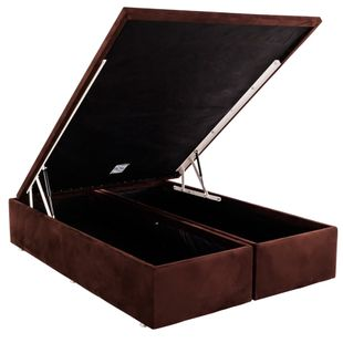 Cama-Box-Bau-Queen-Size-Ortobom-Marrom