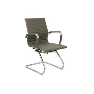 Cadeira-Madrid-Fixa-Cromada-Cinza