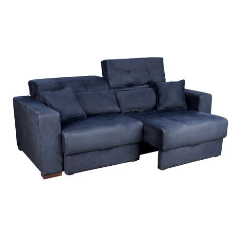 Sofa-Icone-Premium-Suede-Preto-com-2-Almofadas-200m