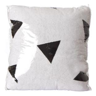 Almofada-de-trico-Triangulo-Preto