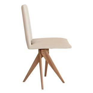 Cadeira-Samba-Bege-Base-Madeira-Fixa-Nova-Versao-Tecido