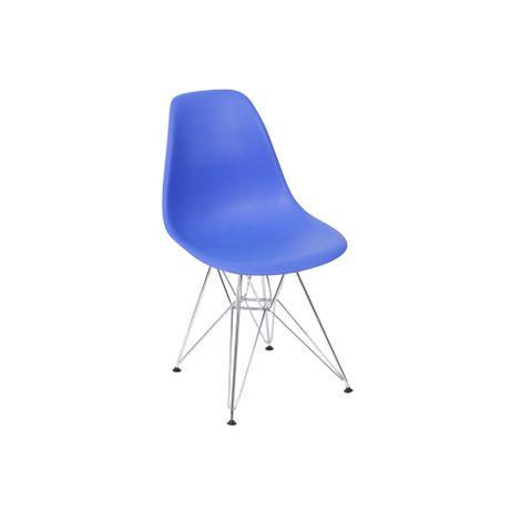 Cadeira-Eiffel-em-PP-Azul-Royal-com-Base-Cromada