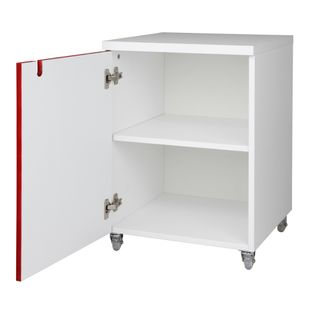 Modulo-Contemp-425mm-1-Porta-Lacca-Acetinada-Vermelho-Ferrari