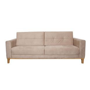 Sofa-Esteban-190m---Braco-16-Tecido-Print-Glace-Costura-Marrom-Base-Natural