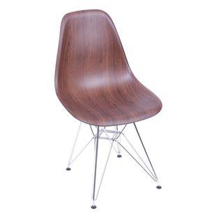 Cadeira-Eiffel-em-PP-Madeira-Escura-com-Base-Cromada