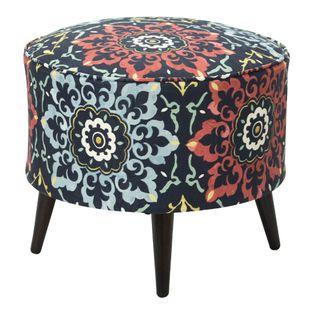 Puff-Spin-Redondo-50x42-Tecido-Indiano-Azul