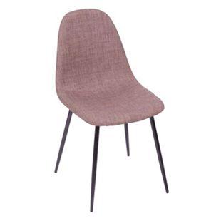 Cadeira-Tania-Marrom-Claro-com-Base-Preta---OR-1112