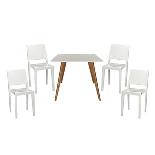 Conjunto-Mesa-Square-Quadrada-Tampo-Branco-Fosco-90x90-com-4-Cadeiras-Zeus-Branco