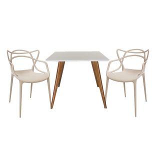 Conjunto-Mesa-Square-Quadrada-Tampo-Branco-Fosco-90x90-com-2-Cadeiras-Allegra-Fendi