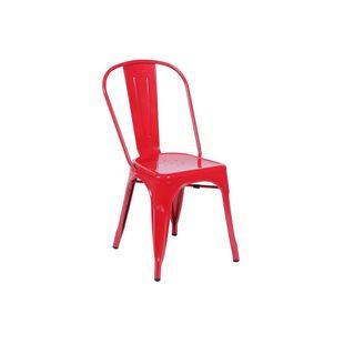 Conjunto-Mesa-Square-Quadrada-Tampo-Branco-Fosco-90x90-com-2-Cadeiras-Tolix-Verm