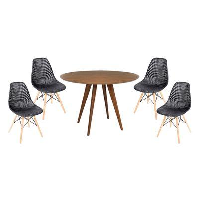 conjunto-mesa-square-redonda-tampo-louro-freijo-80cm-com-2-cadeiras-eiffel-vazada-preta