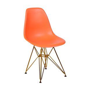 cadeira-eiffel-com-pes-em-bronze-laranja