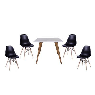 conjunto-mesa-square-quadrada-tampo-branco-fosco-90x90-com-4-cadeiras-eiffel-preta