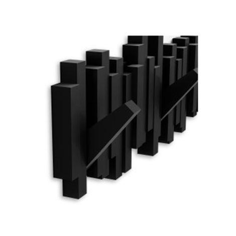 Cabideiro-Umbra-Sticks-Multi-Hook---Black
