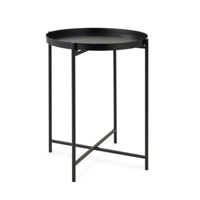 mesa-lateral-em-metal-preta-diametro-40cm