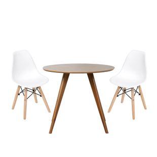 conjunto-mesa-square-redonda-tampo-betula-88cm-com-2-cadeiras-eiffel-branca