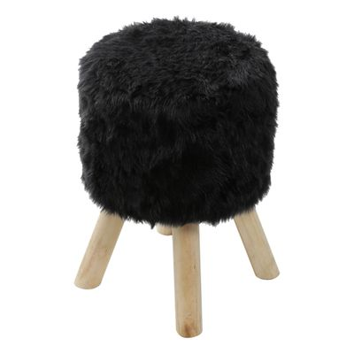 puff-big-peludo-preto-base-madeira-or-6625
