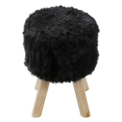 puff-big-peludo-preto-base-madeira-or-6625-lateral