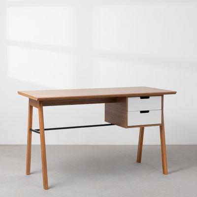 escrivaninha-vintage-louro-freijo-e-branco
