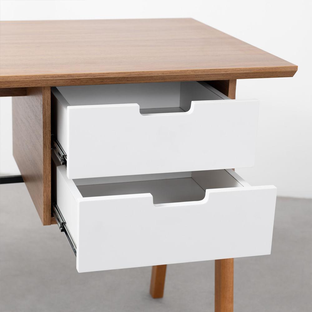 escrivaninha-vintage-louro-freijo-e-branco-detalhe-interno-gavetas