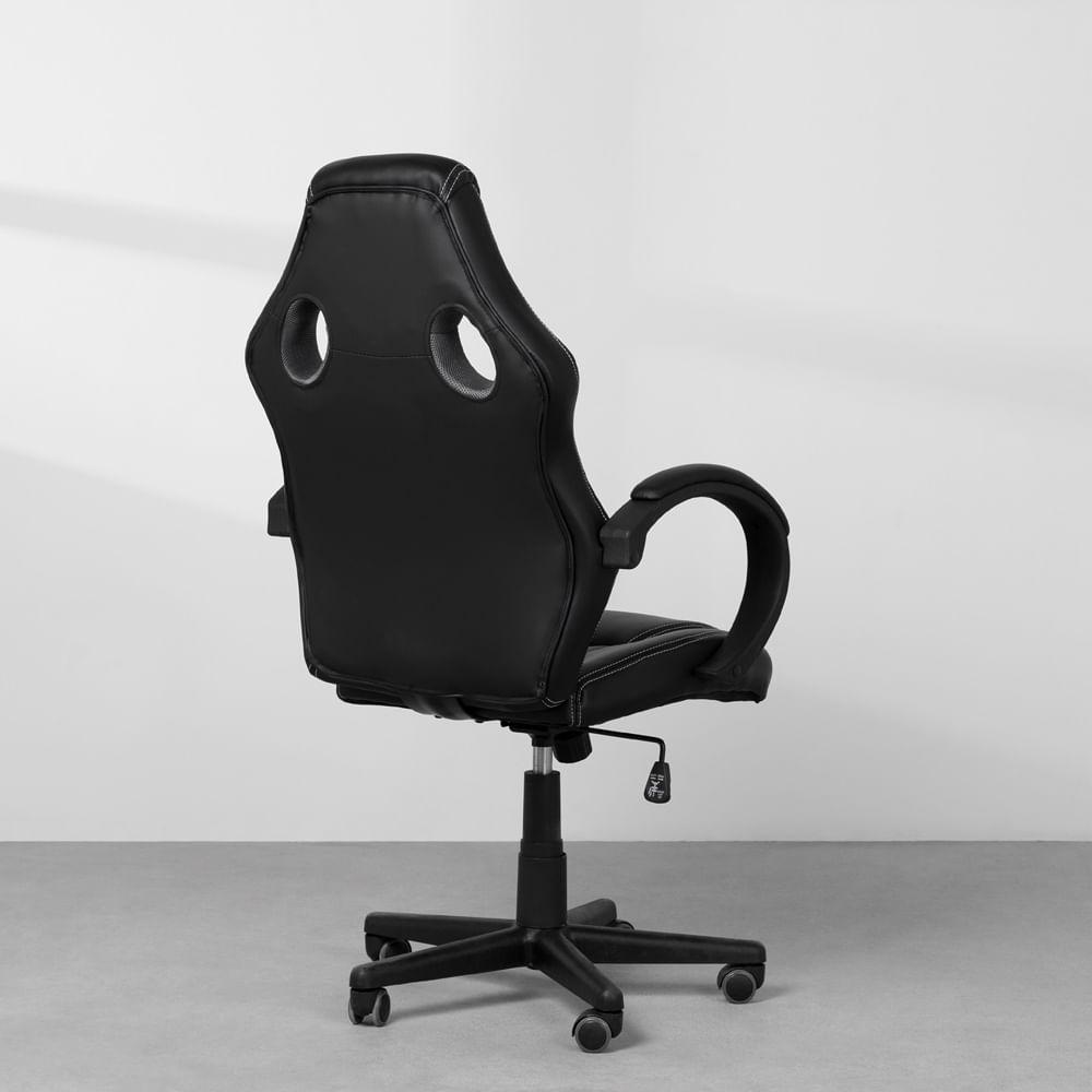kit-home-office-com-cadeira-gamer-racer-preta-lateral-traseira