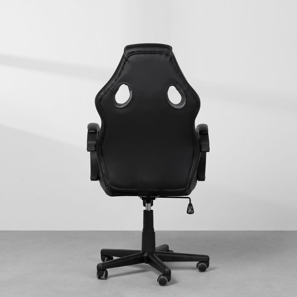 kit-home-office-com-cadeira-gamer-racer-preta-traseira