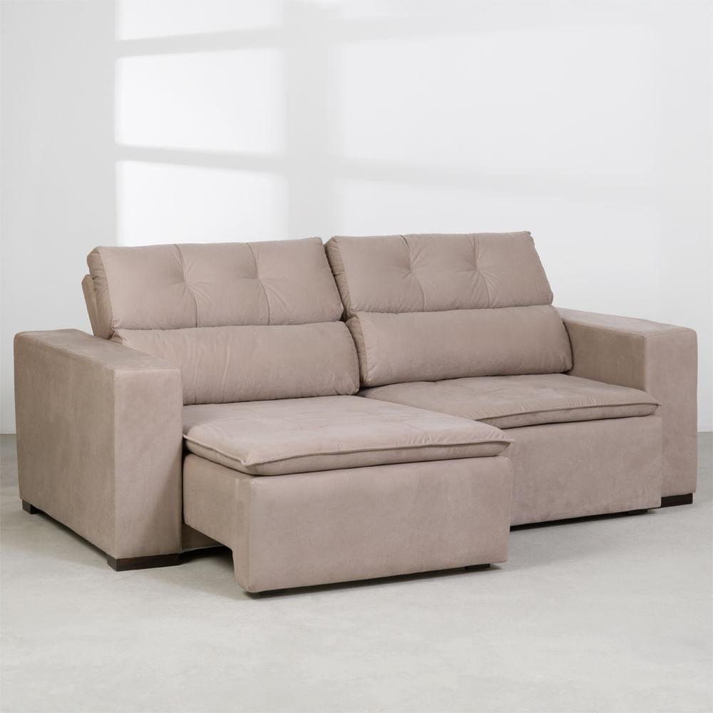 sofa-maya-ultra-retratil-cinza-claro-220cm-assento-um-lado-aberto