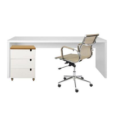 kit-escritorio-bancada-180cm-modulo-gavetas-louro-freijo-poltrona-noruega-cobre-completo