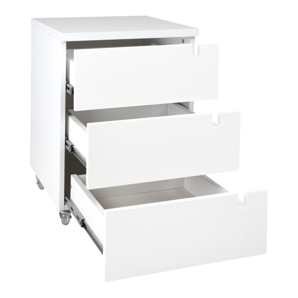kit-home-office-bancada-branca-180cm-modulo-branco-cadeira-de-escritorio-noruega-cobre-gavetas-aberta