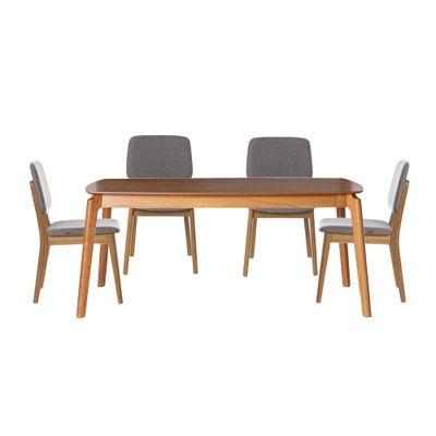 conjunto-mesa-lala-retangular-180x100-com-4-cadeiras-dadi-estofada-linho-cinza