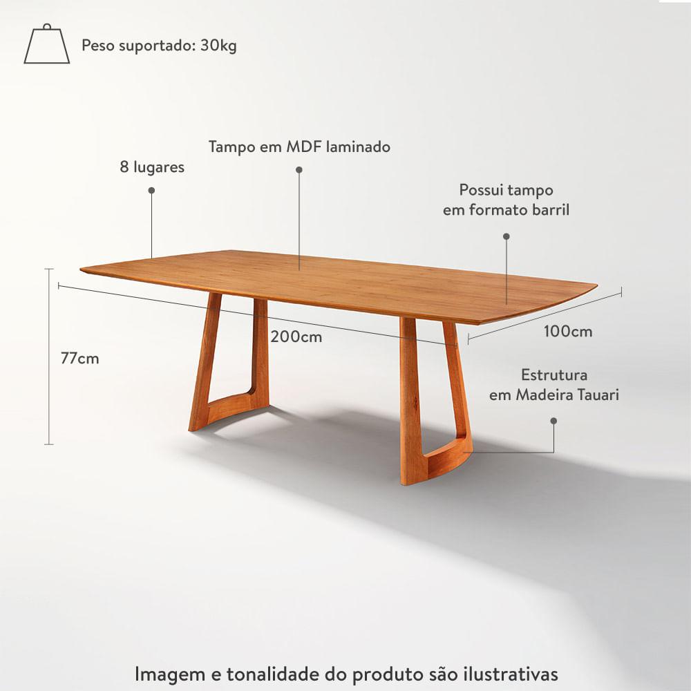 mesa-de-jantar-clean-cinamomo-200-100-cm-com-medidas-e-informacoes-na-imagem