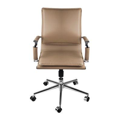 cadeira-de-escritorio-bilbao-giratoria-caramelo-frontal