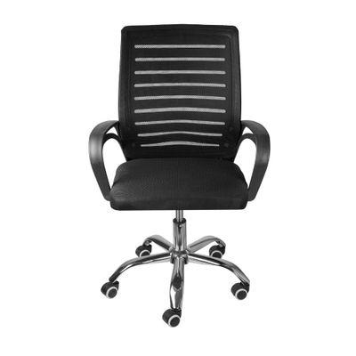 cadeira-de-escritorio-chicago-baixa-giratoria-preto-frontal